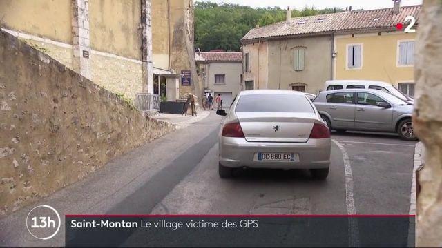 Ardèche : un village exaspéré par l'afflux de véhicules