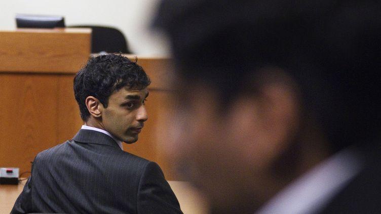 Dharun Ravi, condamné à 30 jours de prison pour avoir espionné son ancien colocataire, le 16 mai 2012 au tribunal de New Brunswick (New Jersey). (LUCAS JACKSON  / REUTERS)