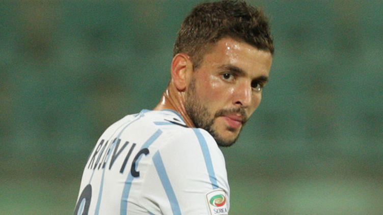 Filip Djordjevic (Lazio Rome) (MARCELLO PATERNOSTRO / AFP)