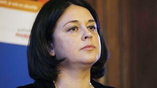 La ministre du Logement Sylvia Pinel, le 28 janvier 2015 à Paris. (THOMAS SAMSON / AFP)