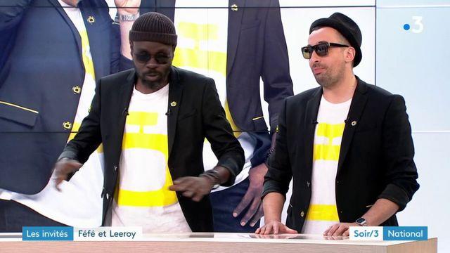 Les invités du Soir 3 : les rappeurs Féfé et Leeroy présentent leur album