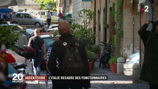 Italie : les travailleurs fantômes des administrations