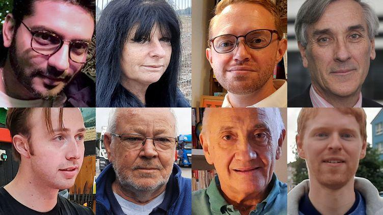 Huit Britanniques disent au revoir à l'Europe. (RICHARD PLACE / RADIO FRANCE / DR)