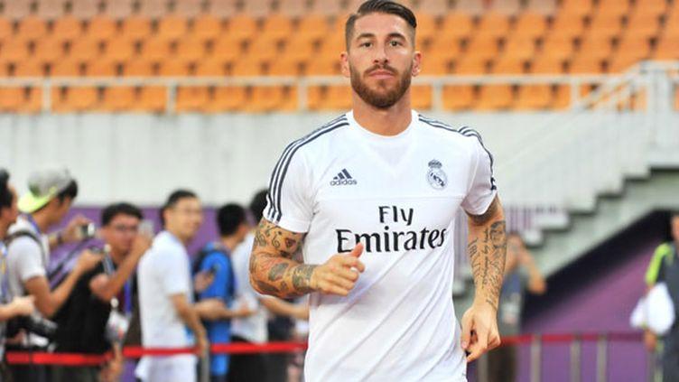 Le défenseur du Real Madrid, Sergio Ramos