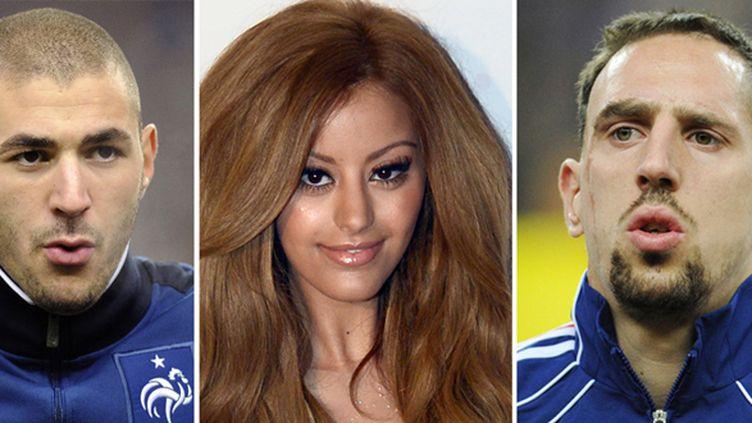 Karim Benzema, Zahiar Dehar, et Franck Ribéry ont décidé de snober la première audience du procès dans lequel ils étaient cités à comparaître.  (BERTRAND GUAY / AFP)