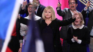 """Irène Jacob dirige un parti d'extrême droite dans """"Chez Nous"""" de Lucas Belvaux.  (Copyright Jean Claude LOTHER - Synecdoche Artémis Productions)"""