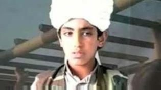 Capture d'écran montrantHamza Ben Laden jeune, image non datée (FRANCE 2)