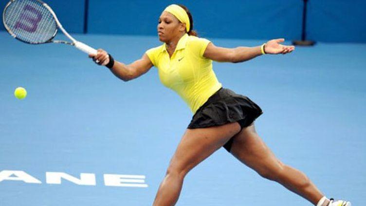 Serena Williams dans sa tenue de rentrée...