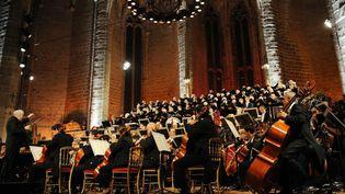Concert au festival de la Chaise-Dieu 2012  (PHOTOPQR/LE PROGRES/REMY PERRIN )