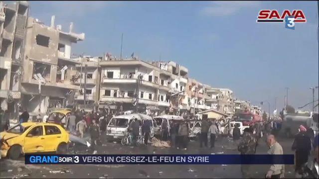 Syrie : vers un cessez-le-feu