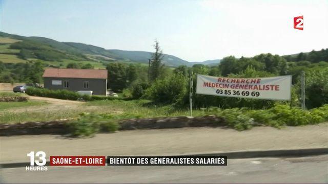 Saône-et-Loire : des médecins salariés du département