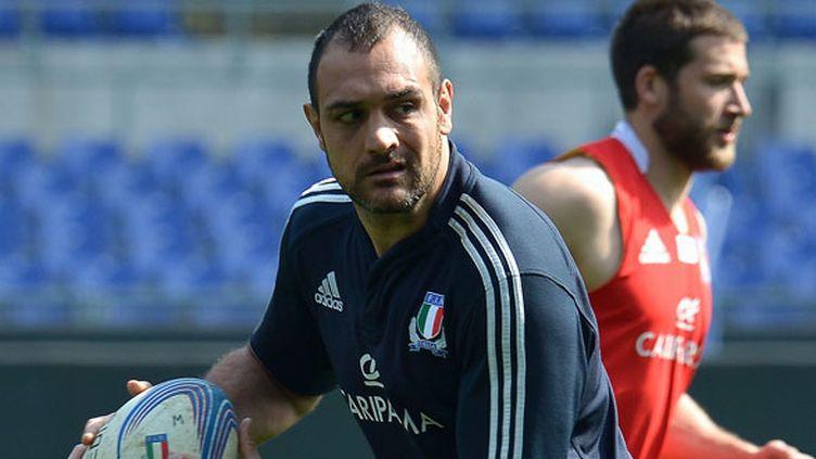 Le joueur italien Marco Bortolami