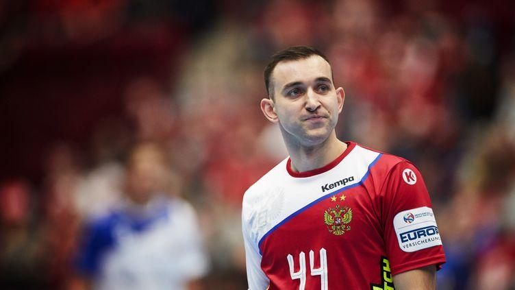 Le Russe Igor Soroka au championnat d'Europe 2020 (ANDREAS HILLERGREN / TT NEWS AGENCY)