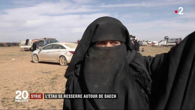 Syrie : l'étau se resserre autour de Daech