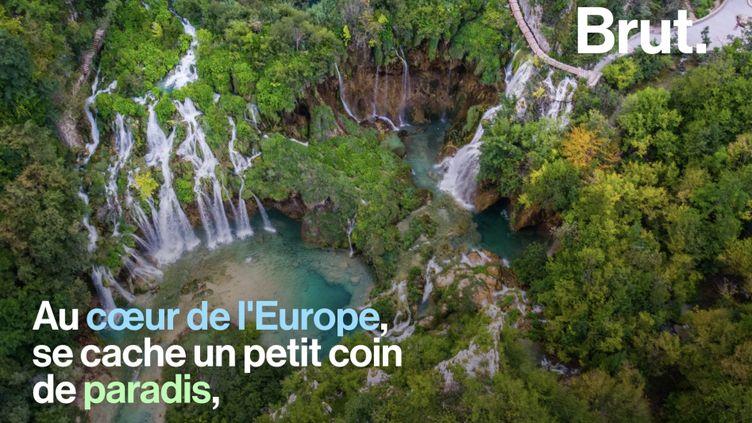 VIDEO. Plitvice, un petit paradis situé au cœur de l'Europe (BRUT)