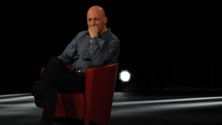 """Dan Reed sur le plateau de """"Complément d'enquête"""" (OLIVIA VILLAMY)"""