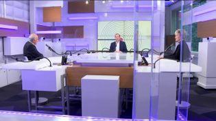 Les débats de l'éco du dimanche 11 avril. (FRANCEINFO / RADIO FRANCE)