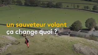 """Qu'est-ce qu'un """"secouriste volant"""" ? (France info)"""