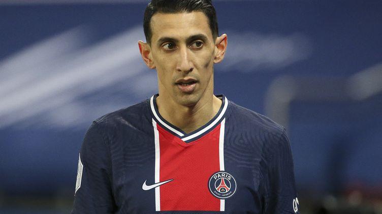 Le joueur du PSG Angel Di Maria, le 14 mars 2021, à Paris. (JEAN CATUFFE / JEAN CATUFFE / AFP)