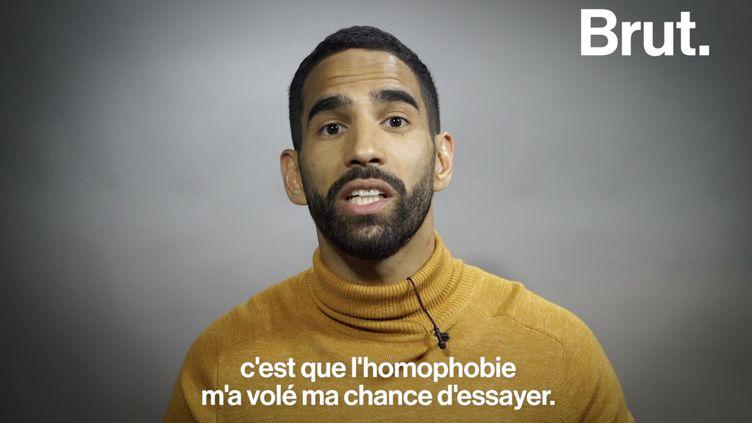 VIDEO. Homophobie dans le football : Ouissem Belgacem témoigne (BRUT)