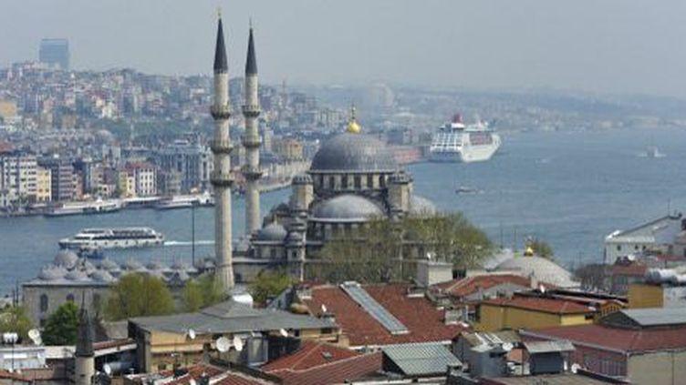 Le Bosphore, à Istanbul. (AFP)