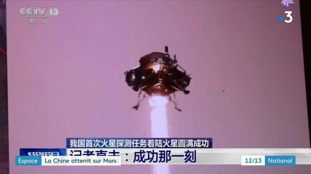 Espace : la Chine a envoyé son robot sur Mars