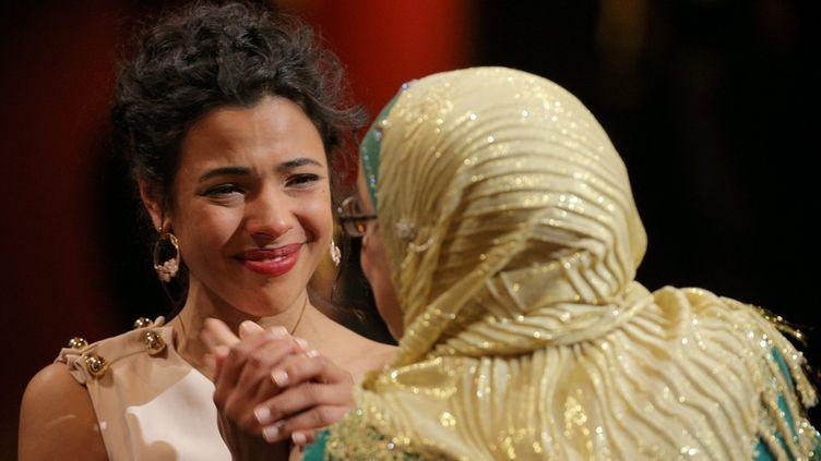 Zita Hanrot félicitée pour son César par Soria Zéroual  (PHOTOPQR/LE PARISIEN)
