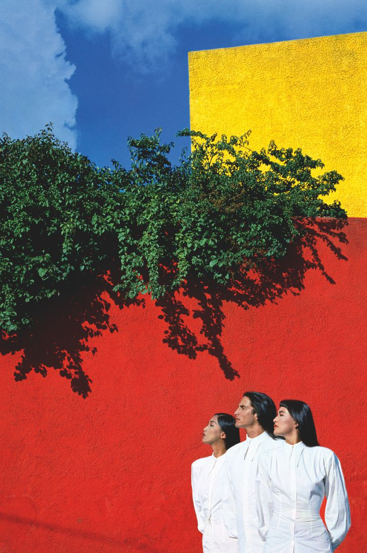 """Tirage présenté dans les passages de Bercy Village à Paris dans le cadre de l'exposition """"Manfred Thierry MuglerPhotographe"""" jusqu'au 14 septembre 2020 (MANFRED THIERRY MUGLER)"""