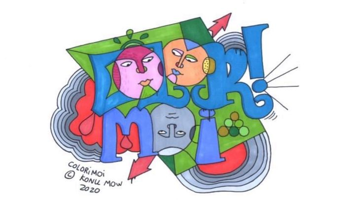 Un dessin posté sur la page Facebook de Colorimoi (Colorimoi)