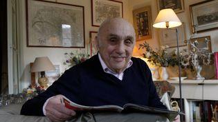Marcel Bluwal, le 5 février 2009 à Paris. (FREDERIC DUGIT / MAXPPP)