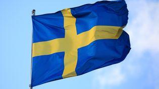 Le drapeau de la Suède (PHILIPPE TURPIN / MAXPPP)