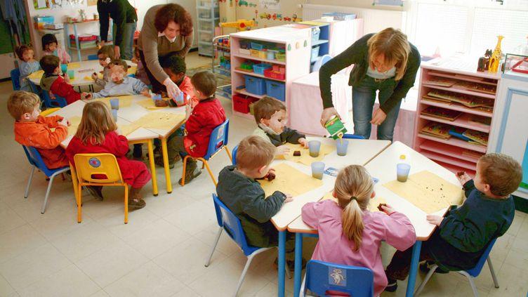 Dans une classe de maternelle, en 2009, au Mans (Sarthe). (GILE MICHEL / SIPA)