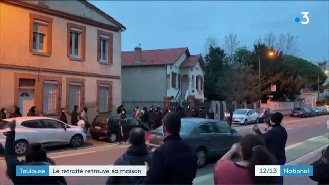 Faits-divers : à Toulouse, les squatteurs ont quitté la maison du retraité