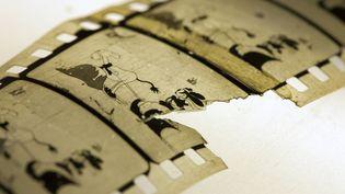 "Archives ""Empty Socks"" avec Oswald le lapin veinard(1927)  (Martin Weiss / Nasjonalbiblioteket / AFP)"