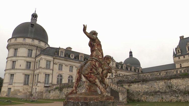 Le château de Valencay, dans l'Indre. (CAPTURE D'ÉCRAN FRANCE 3)