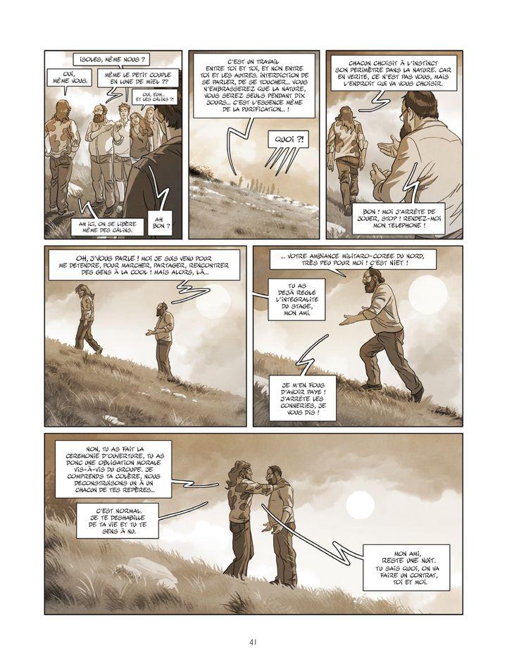 """""""Détox"""", page 41 (Antonin Gallo et Jim / Bamboo)"""
