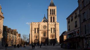 La basilique de Saint-Denis, octobre 2018  (Manuel Cohen / AFP)