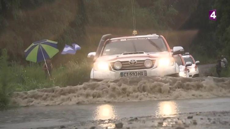 La première étape du Dakar 2016 annulée à cause des conditions météos très difficiles.