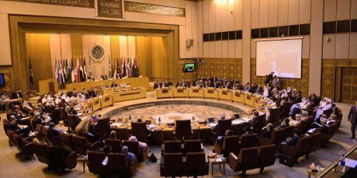 Les ministres des Affaires étrangères de la Ligue arabe réunis au Caire le 1-9-2013. (AFP - Anadolu Agency - Muhammed Elshamy )