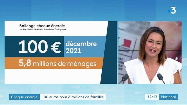 Energie : un chèque de 100 euros distribué à six millions de ménages