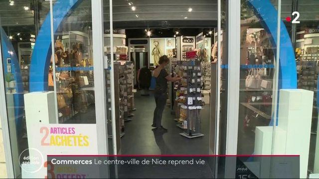 Commerces : le centre-ville de Nice reprend vie