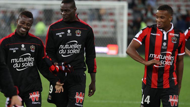Balotelli, un meneur pour les jeunes (VALERY HACHE / AFP)