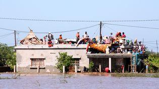 Dans le district de la ville deChokwe (Mozambique), le 25 janvier 2013. (USSENE MAMUDO / AFP)