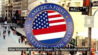 Clip parodique à l'adresse de Donald Trump réalisé par des humoristes hollandais. (CAPTURE D'ÉCRAN)