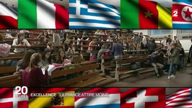 Éducation : les universités françaises moins attractives pour les étudiants étrangers