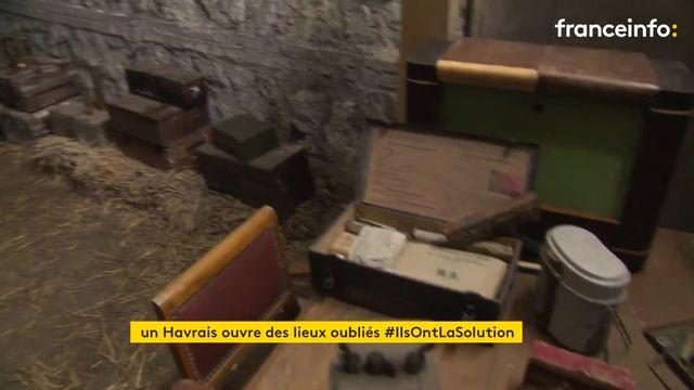 Une association de passionnés restaure le patrimoine oublié du Havre