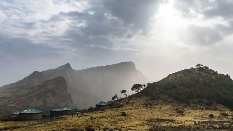 Une vue du parc national des monts Simien en Ethiopie. (MICHAEL RUNKEL / ROBERT HARDING PREMIUM)