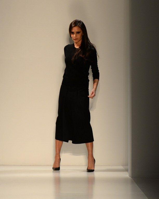 Victoria Beckham, février 2014, à New York  (DON EMMERT / AFP)