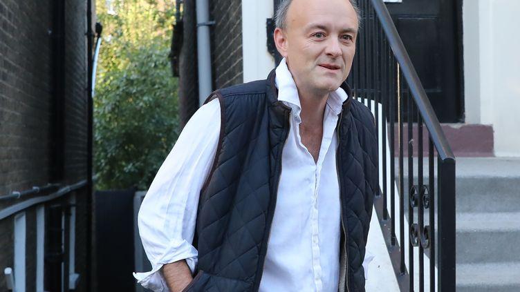 Dominic Cummings, principal conseiller de Boris Johnson, Premier ministre britannique. (ISABEL INFANTES / AFP)