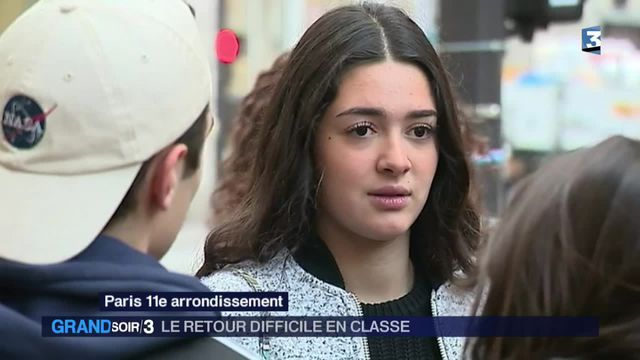 le lycée Voltaire a rouvert malgré le choc